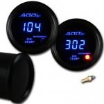 ADD W1 Blue Digital Oil temperature Gauge