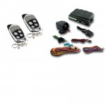 Car Alarm Remote Start Keyless Entry Security System with 2 Remote Transmitters #160