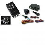 Car Alarm Remote Start Keyless Entry Security System with 2 Remote Transmitters #181
